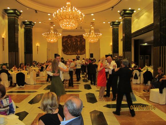 Cenas con baile en el Hotel Villamadrid